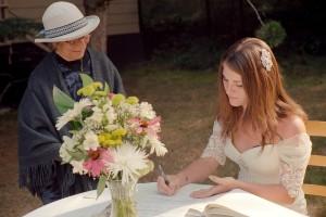Marriage Commisoner Dora Fitzgerald